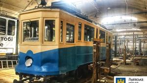 У Львові курсуватиме ретро-трамвай