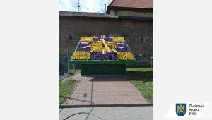 3 млн грн - на квіти: у Галицькому районі Львова почали з годинника