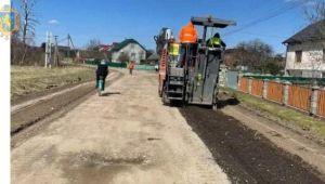 На Великдень - новим шляхом: на Самбірщині до кінця квітня відремонтують дорогу Боляновичі-Верхівці