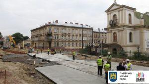 Трамваї повернуться на вулицю Личаківську в липні, – ЛМР