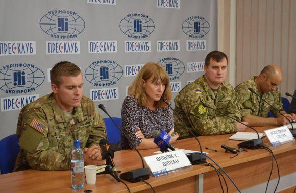прес-конференція представників США та України