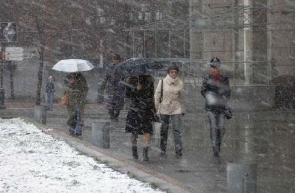 Сьогодні у Львові – дощ і мокрий сніг та ожеледь - DailyLviv.com bf5670078a878