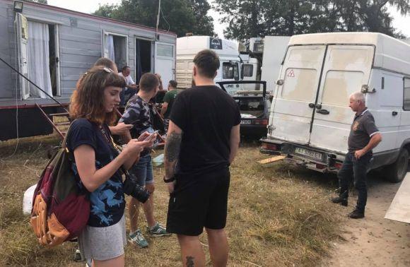 НаЛьвівщині екологи забрали ведмедицю зпересувного цирку