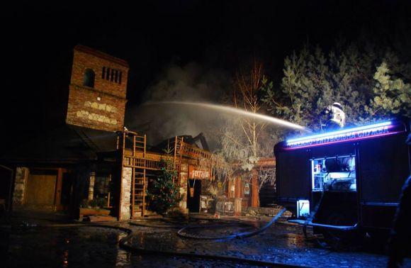 Під Львовом згорів ресторан-музей