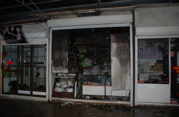 Пожежники ліквідували пожежу наринку уЛьвові