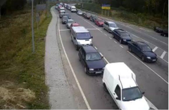 Накордоні зПольщею вчергах стоять 1200 автомобілів