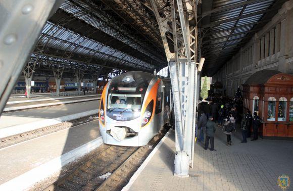 Потяг «Київ-Львів-Перемишль» здійснив перший рейс
