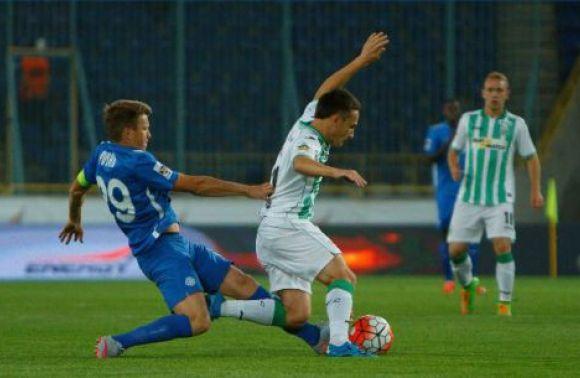 «Карпати» незуміли переграти «Дніпро» впершому матчі зновим тренером