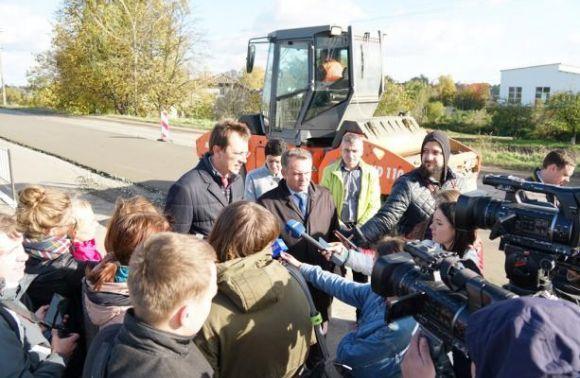 НаЛьвівщині розгорнуто масштабне будівництво автобану— Мінінфраструктури