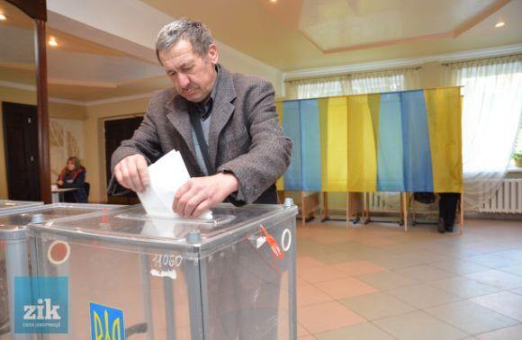 Львів`яни нейдуть голосувати: на12.00 явка понад 7%