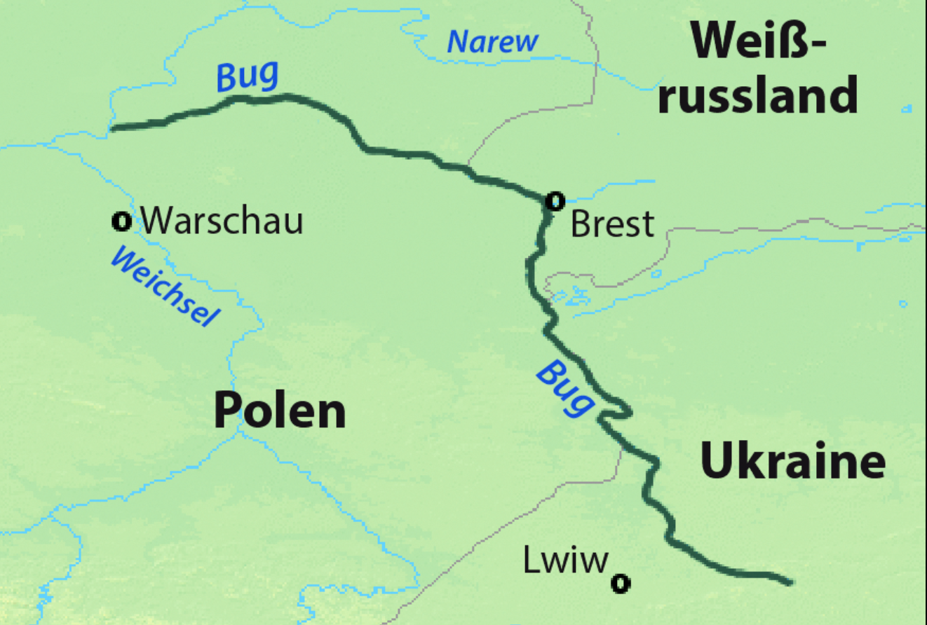 У Польщі знову очищатимуть Західний Буг, який бере початок на Львівщині